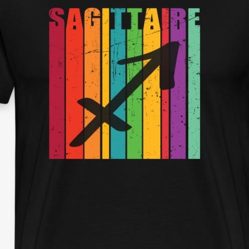 Symbole du zodiaque SAGITTAIRE, novembre, décembre - T-shirt Premium Homme