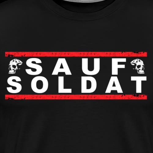 SAUF SOLDAT - Männer Premium T-Shirt