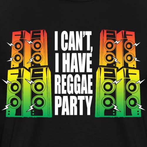 Reggae Party - T-shirt Premium Homme