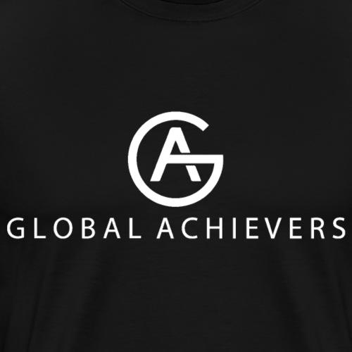 GA WHITE EDITION BIG - Männer Premium T-Shirt