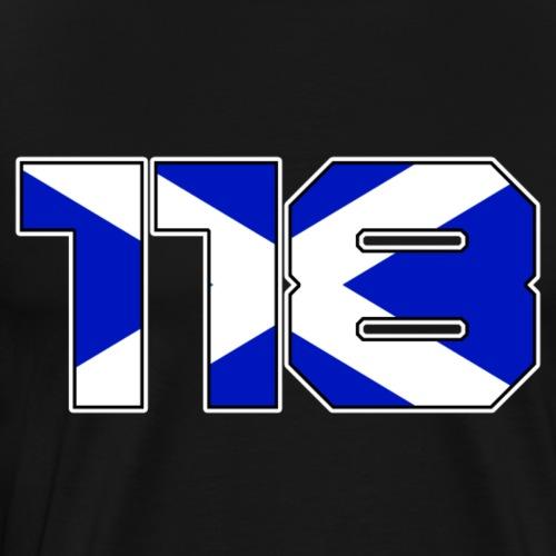 118 Escocia - Men's Premium T-Shirt