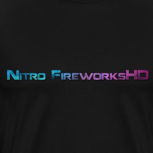 Nitro FireworksHD Universe - Männer Premium T-Shirt