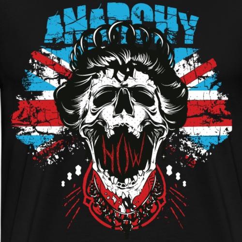 ANARCHIE KÖNIGIN - Britische Königin Geschenk - Männer Premium T-Shirt