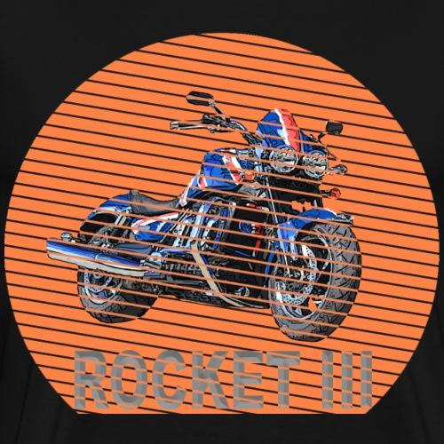 Rocket III Roadster Sun - Sonne - Männer Premium T-Shirt