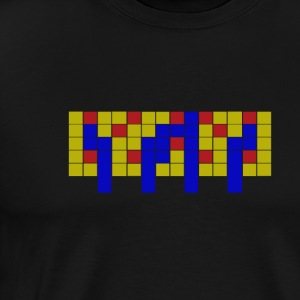 Apartment Tetris 4 - Herre premium T-shirt
