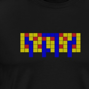 Apartment Tetris 3 - Herre premium T-shirt