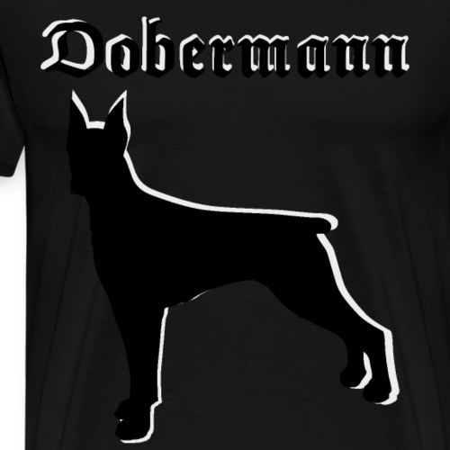 Dobermann,Hundekopf,Hundesport,Hundebesitzer - Männer Premium T-Shirt