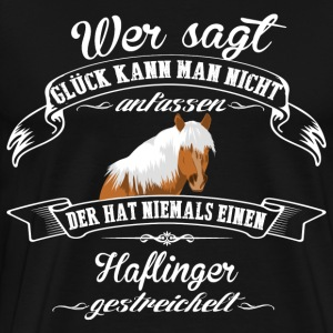Haflinger luck - Men's Premium T-Shirt