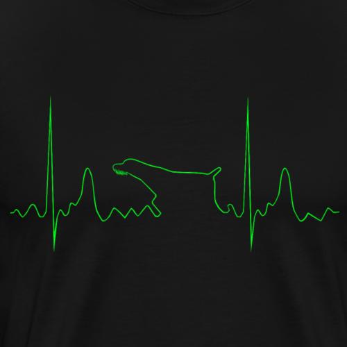 Deutsch Drahthaar Pedro - Männer Premium T-Shirt