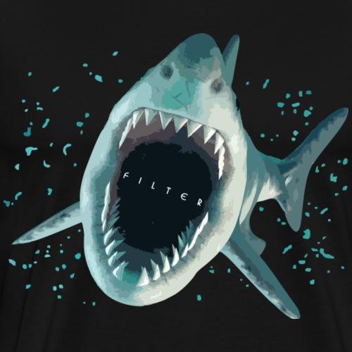 Shark Mouth - Maglietta Premium da uomo