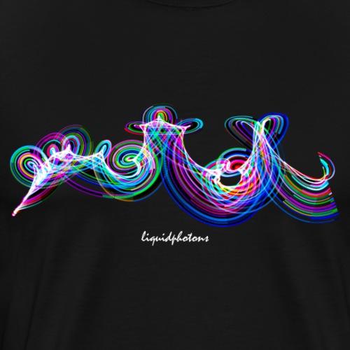 Photon Graffiti 3 - Männer Premium T-Shirt