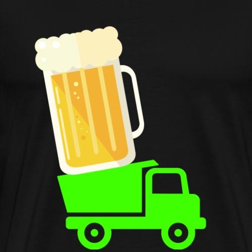 bier transport - Männer Premium T-Shirt
