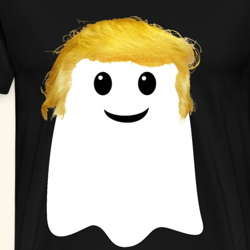 Trumpgeist Geist mit Trump-Frisur - Männer Premium T-Shirt