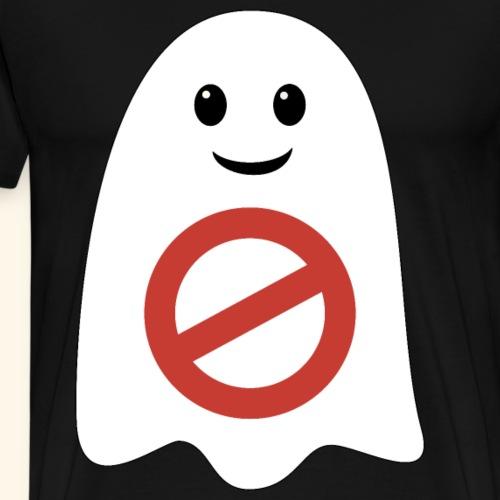 Geisterjäger Verbotszeichen Geisterjagd verboten - Männer Premium T-Shirt
