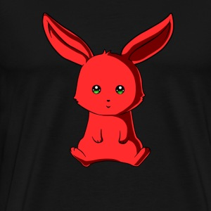 Rote Hase - Männer Premium T-Shirt