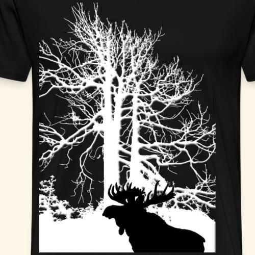 Moose - Maglietta Premium da uomo