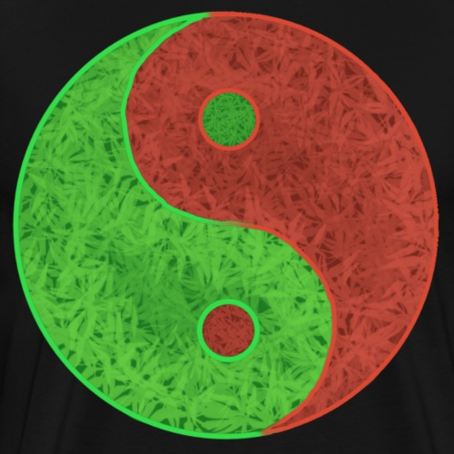 Leaf Yin Yang - Men's Premium T-Shirt