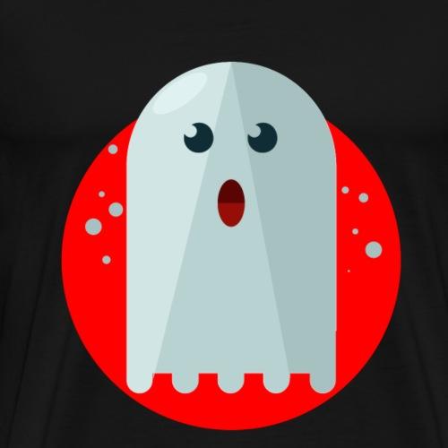 ghost geist Gespenst Halloween - Männer Premium T-Shirt