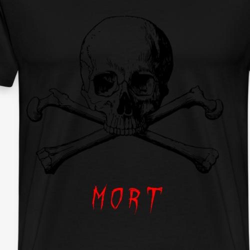 MORT - T-shirt Premium Homme