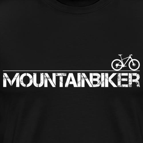 Mountainbiker - Männer Premium T-Shirt