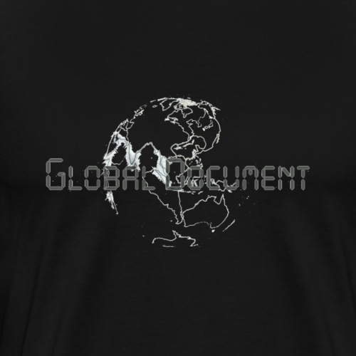 Global Document Whtie - Männer Premium T-Shirt