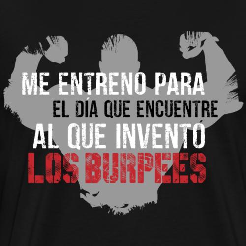 burpees - Camiseta premium hombre