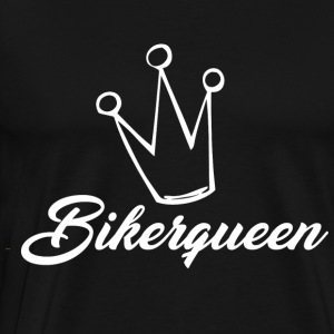 Biker Queen - Men's Premium T-Shirt