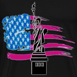 AMERICA - Maglietta Premium da uomo