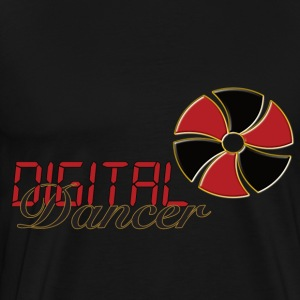 digital Dancer - Premium-T-shirt herr