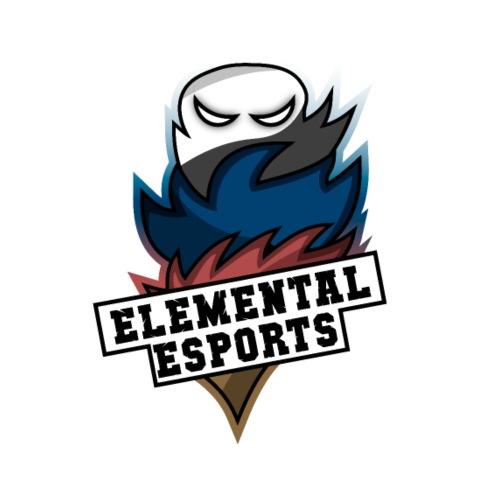 Elemental eSports | 2018 Logo - Herre premium T-shirt