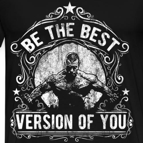 BEST BODYBUILDER - Body Fitness GYM Geschenk Motiv - Männer Premium T-Shirt