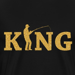 Fishing King - Men's Premium T-Shirt