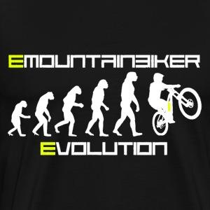 EMountainbiker Evolution - Ebike & EMTB - Männer Premium T-Shirt