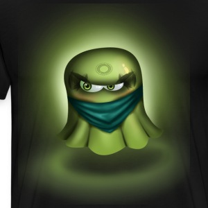 Ninja Ghost - Premium T-skjorte for menn