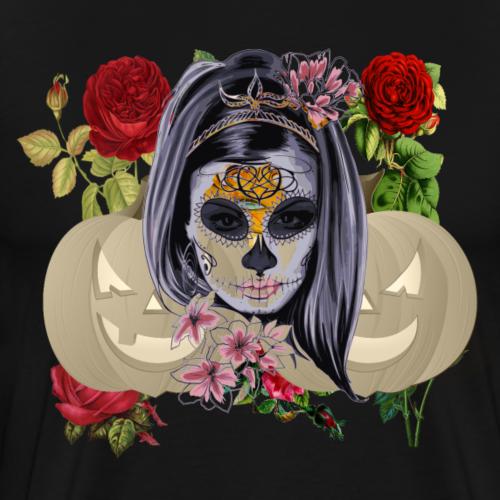 Halloween Mash Design - Männer Premium T-Shirt