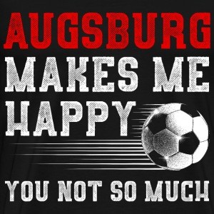 MAKES ME HAPPY Augsburg - Männer Premium T-Shirt