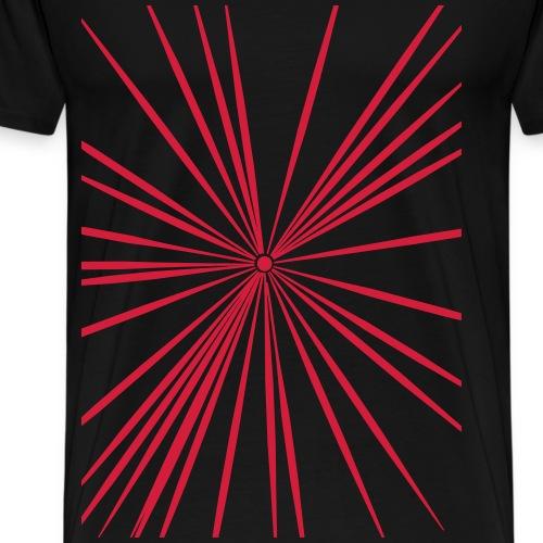 Strahlen - Männer Premium T-Shirt