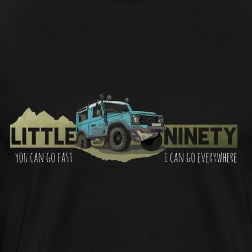 Little Ninety - Offroad Ikone - Männer Premium T-Shirt