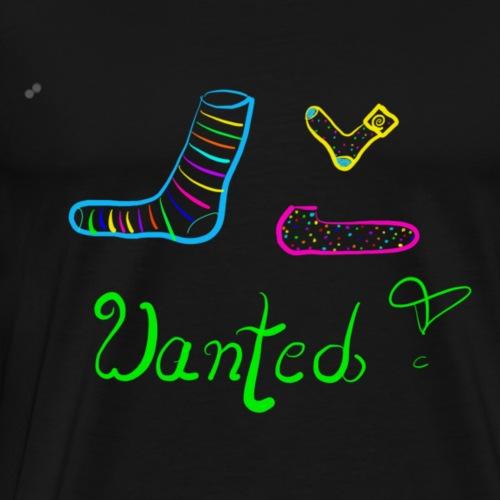 Socke gesucht. - Männer Premium T-Shirt