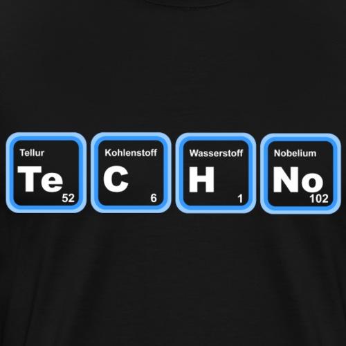 Chemische Elemente (Techno-Edition) - Männer Premium T-Shirt