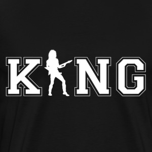 guitar King - Mannen Premium T-shirt