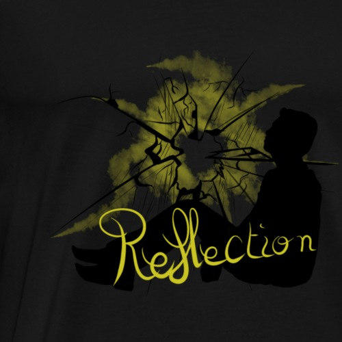 REFLECTION - Rapmonster - T-shirt Premium Homme