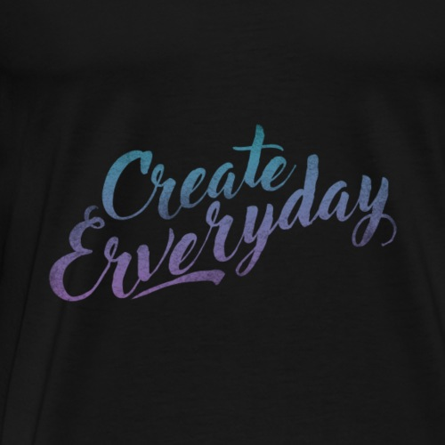 Create Everyday - Männer Premium T-Shirt