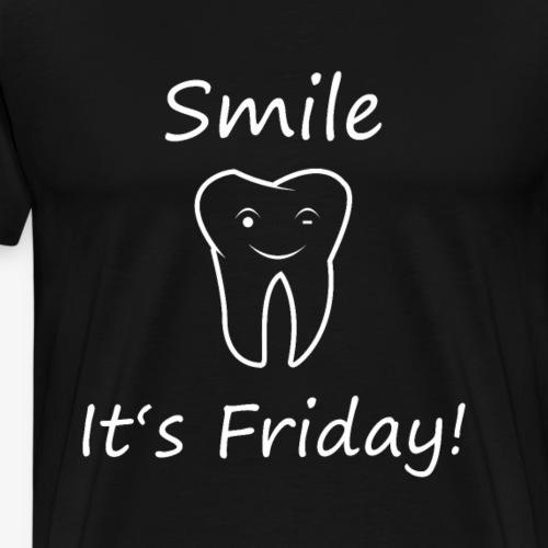Endlich Wochenende - smile it's Friday - Männer Premium T-Shirt