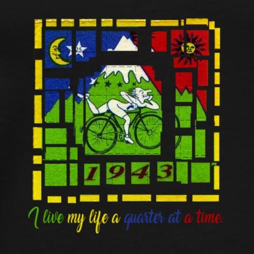 I LIVE MY LIFE A QUARTER AT A TIME - Maglietta Premium da uomo
