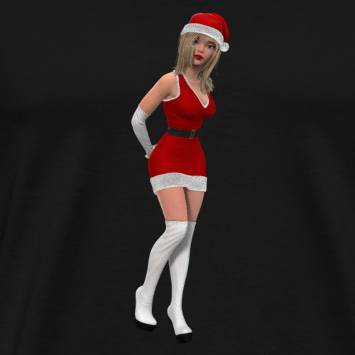 Weihnachtsfrau - Männer Premium T-Shirt