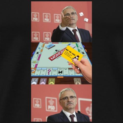 liviu dragnea condamnat meme - Männer Premium T-Shirt