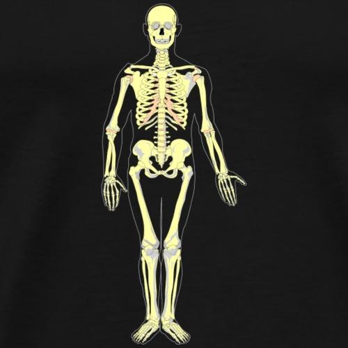 Skelett auch in Zukunft - Männer Premium T-Shirt