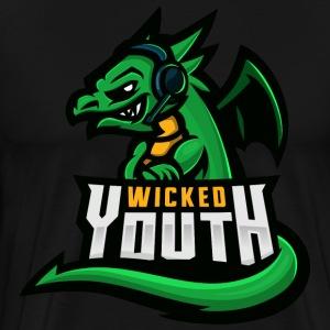 WICKEDYOUTH - Premium-T-shirt herr