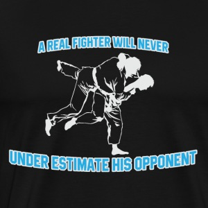 Fighter réel - T-shirt Premium Homme